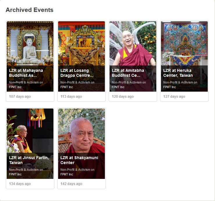 FPMT Livestream Account