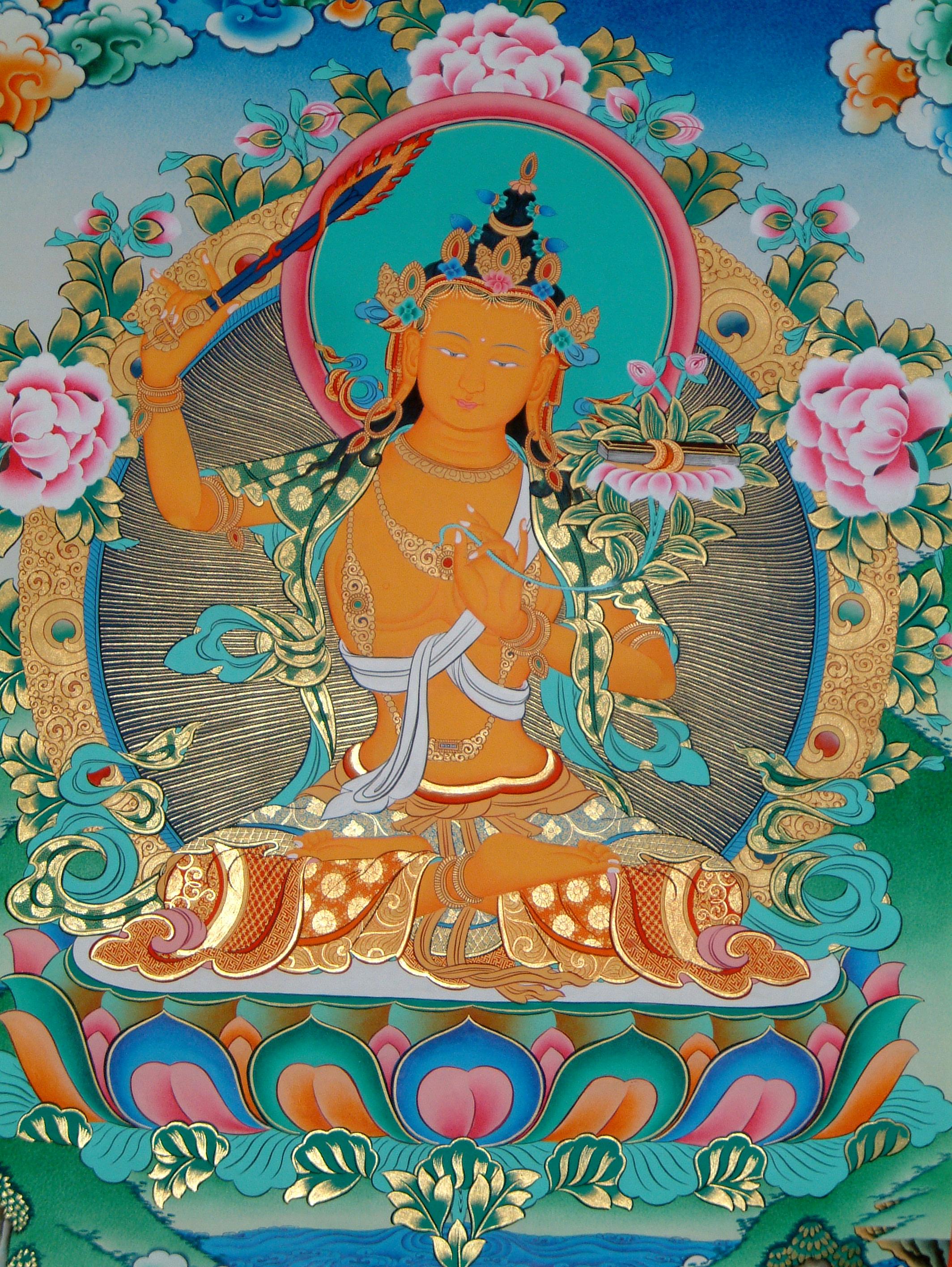 A Meditation On Orange Manjushri Fpmt