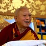 Lama Zopa Rinpoche. Photo by Ven. Thubten Kunsang.