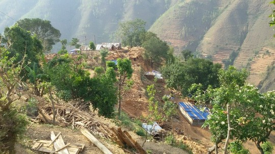 Aid was offered to the 11 most affected districts in Nepal following the initial earthquake, aftershocks, and second earthquake.