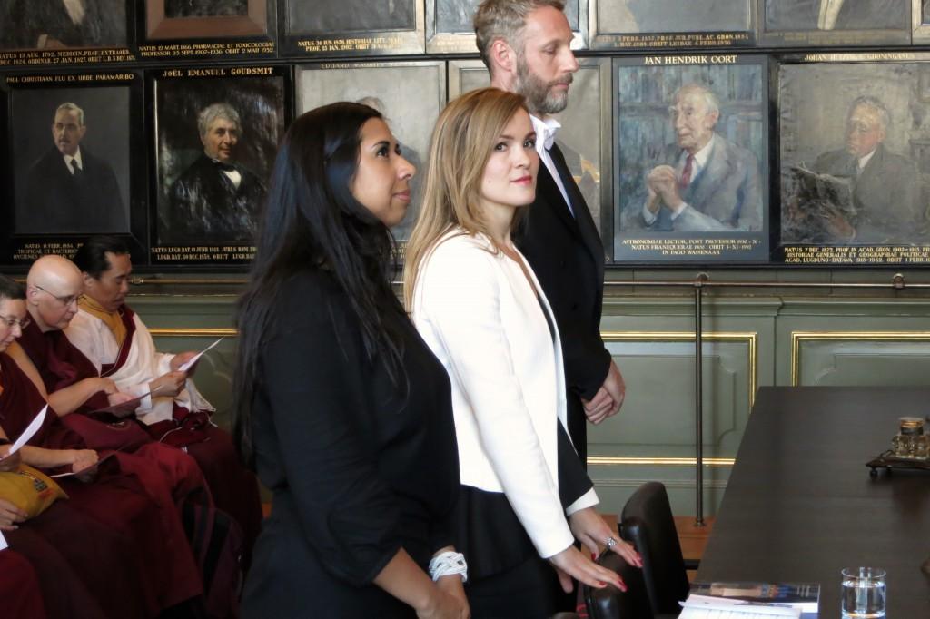 LRZTP Graduate Berthe Jansen Earns Ph.D. from Leiden University, Netherlands
