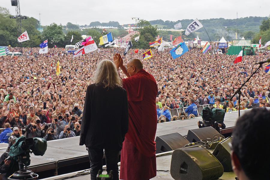 His Holiness the Dalai Lama Celebrated Around the World