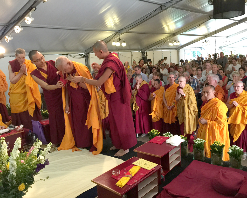 Long Life Puja for Lama Zopa Rinpoche To Be Webcast Live