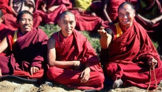 Geshe Jampa Gyatso, Lama Zopa Rinpoche and Lama Yeshe, Kopan ___.
