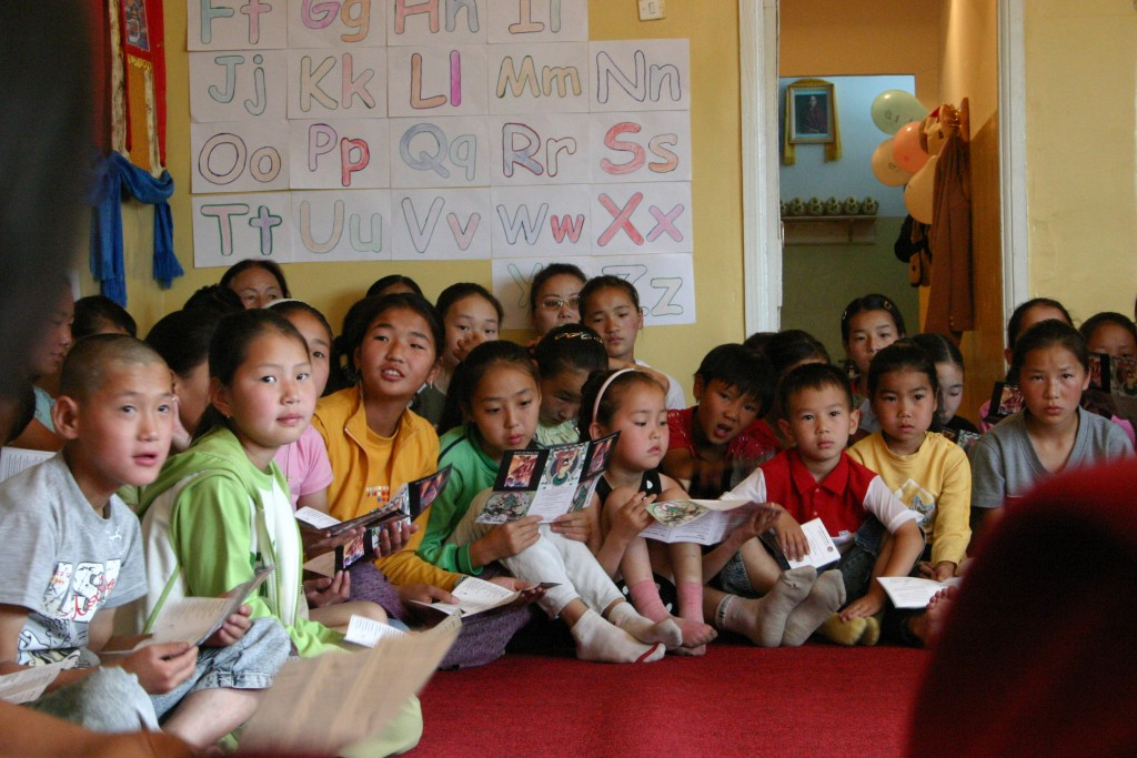 Support for Social Services Offered through Lamp of the Path, Mongolia