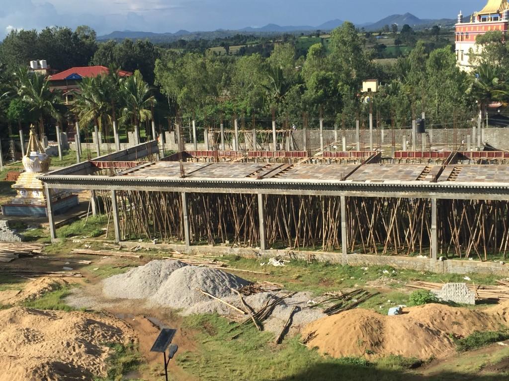 Progress on Sera Mey Debate Courtyard