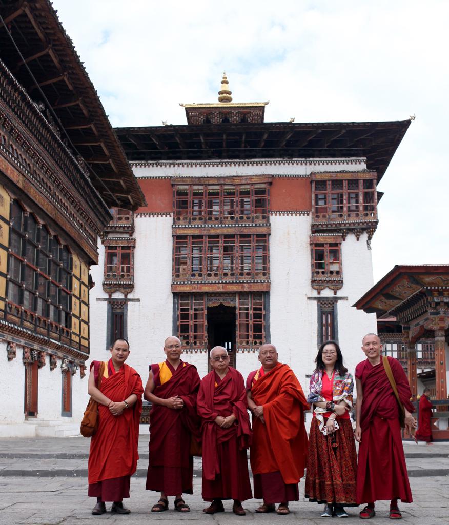 Lama Zopa Rinpoche's Visit to Thimphu, Bhutan