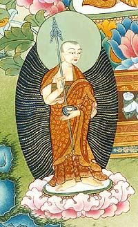 Sariputra, Lord Buddha's principle disciple.