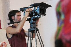 Osel Hita filming UWE Gathering 2011