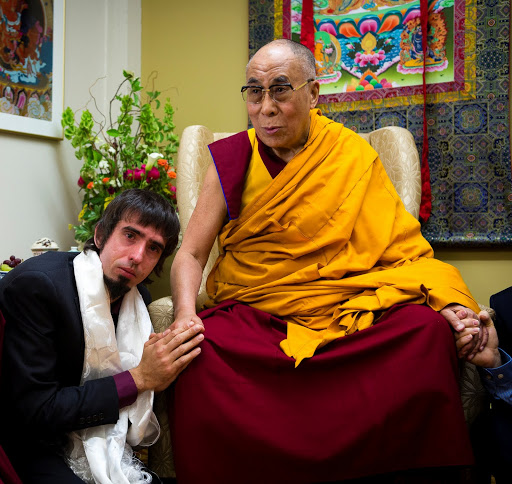Osel and HHDL