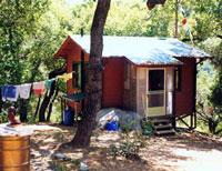 Retreat cabin at Land of Calm Abiding