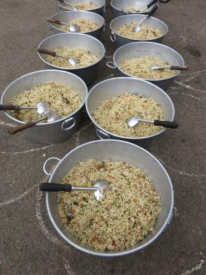 friday veg biryani with soup