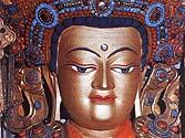 Buddha Shakyamuni Statue in the Jokhang Temple, Lhasa, Tibet