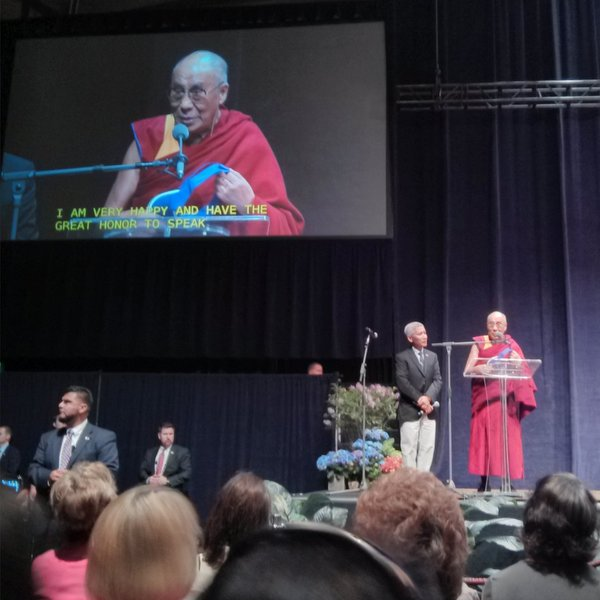HHDL Chiles Center Univ of Portland  Portland May 9 2013