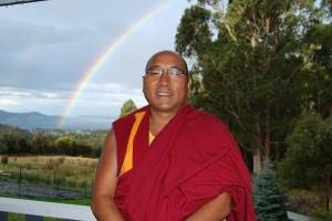 Geshe Sherab, Tasmania, Australia, August 2012. Phots by Kunchok Gyaltsen.