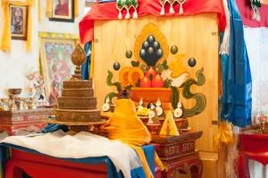 Mummification box of 9th Khalkha Jetsün Dampa Rinpoche, July 2012
