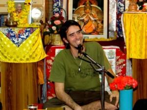 Tenzin Ösel Hita teaching at Choe Khor Sum Ling Study Group, Bangalore, India, February 2013.