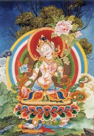 White Tara in the Newari style