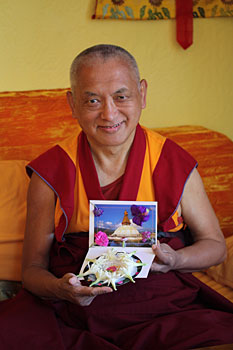 Lama Zopa Rinpoche, Aptos, California, 2008