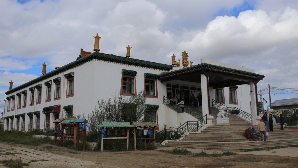 Idgaa Monastery Mongolia Aug 2013 Ven Roger