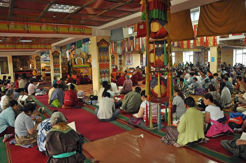 100 Million Mani retreat, Ulaanbaatar, Mongolia, August 2013. Photo courtesy of FPMT Mongolia.