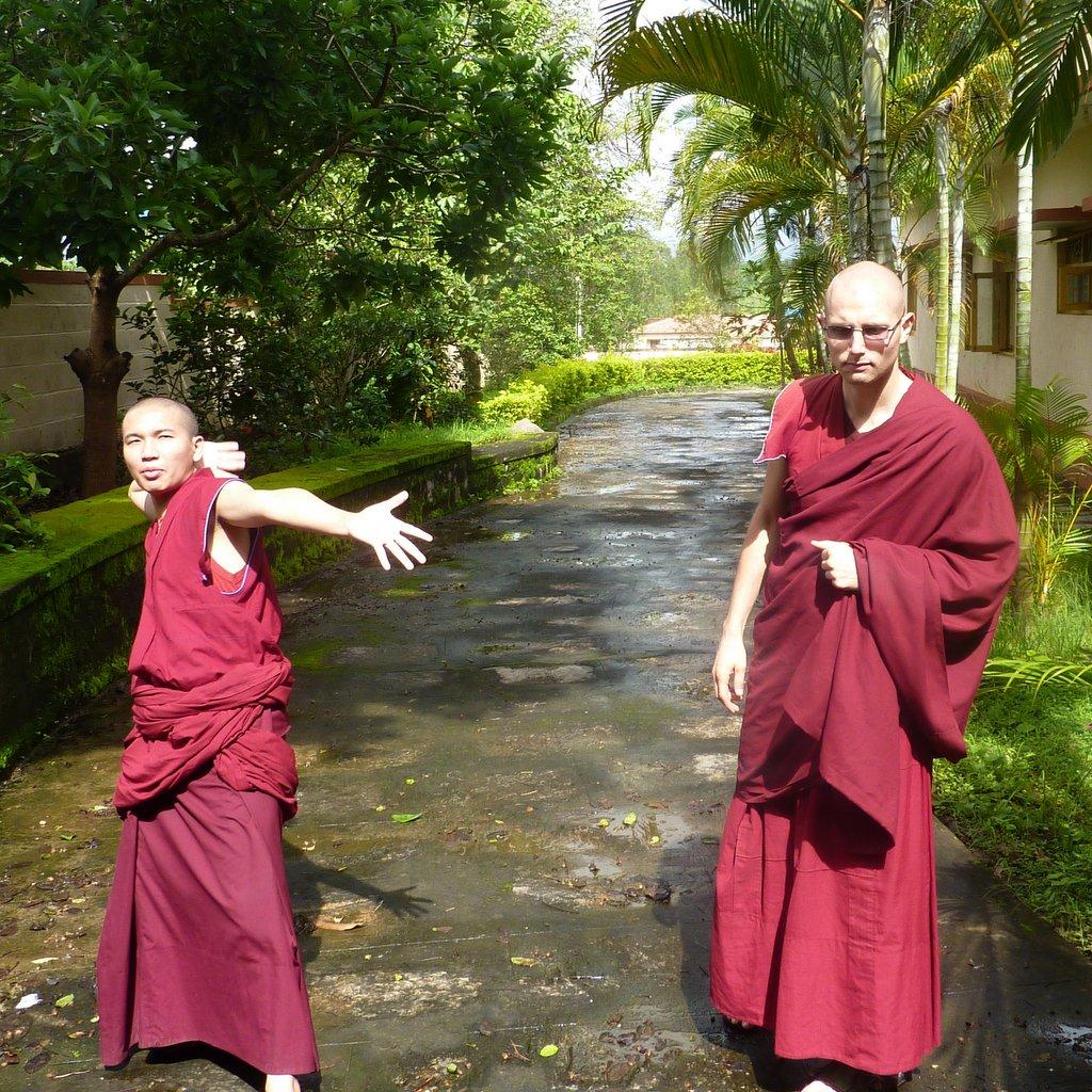 Ven Gache and practice partener