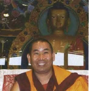 Geshe Jamphel, abbot of Nalanda Monastery