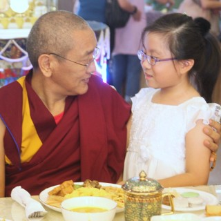 Khen Rinpoche Geshe Chonyi with Melody Wee, ABC, July 2013