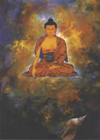 Painting by Karma Phuntsak