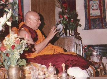HH Ling Rinpoche