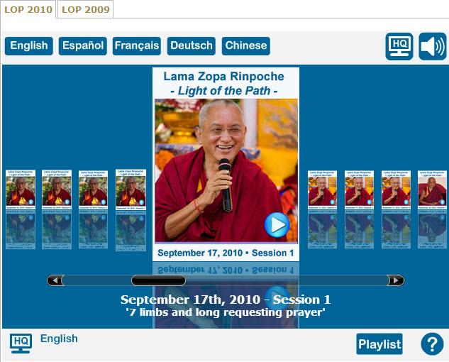 Light of the Path Video Teachings