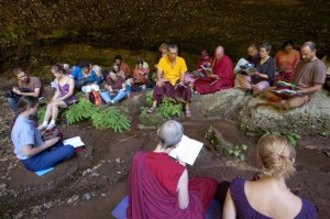 Yangsi Rinpoche Chod Retreat Oregon 2009 Marc Sakamoto