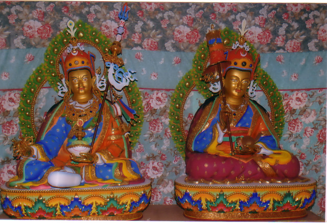 Guru Chhoki Dorji & Guru Urgen Khandro Norla