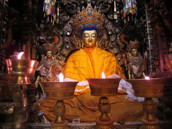 Jowo Buddha in Tibet
