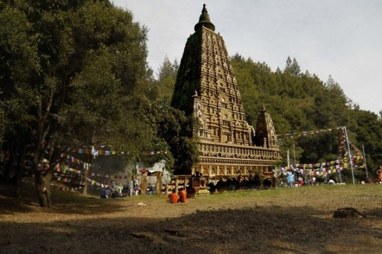 Land of Medicine Buddha will be building a Mahabodhi stupa, dedicated to the promotion of peace.