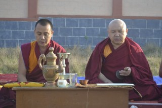 Geshe Ngawang Sangye, one of the main teachers of Sera Je Monastery, and ____.