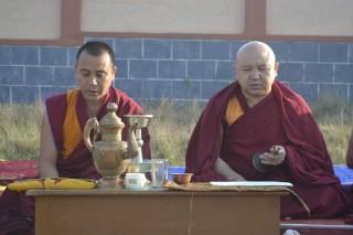 Geshe Ngawang Sangye, one of the main teachers of Sera Je Monastery, and ____.