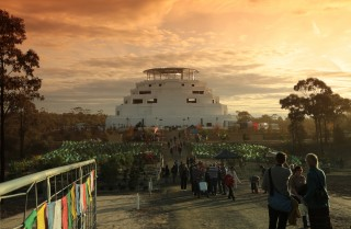 The Great Stupa of Universal Compassion, venue for CPMT 2014.