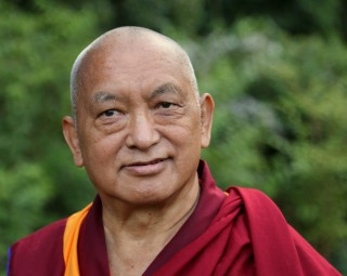 Lama Zopa Rinpoche, Leeds, UK.  July 2014.  Photo by Ven Thubten Kunsang