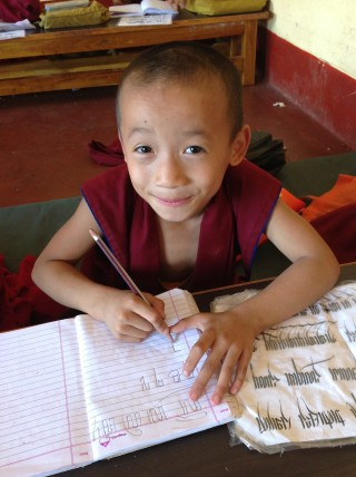 The young monks are able to focus on their studies without worrying about where there next meal will come from. Photo courtesy of Sera Je Secondary School Facebook.