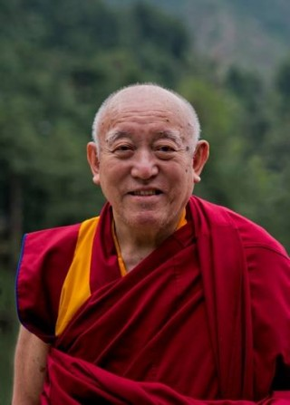 Denma Locho Rinpoche courtesy of Drepung Loseling Monastery's Facebook page