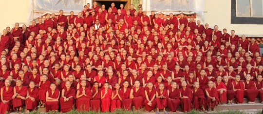Kopan Monastery and Khachoe Ghakyil Nunnery offered the pujas which Lama Zopa Rinpoche recommended for the elimination and prevention of Ebola.