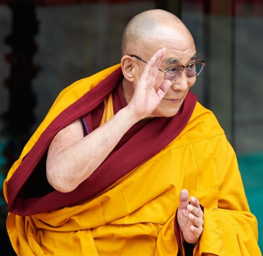 His Holiness the Dalai Lama, Ladakh, India, July 2014. Photo by Olivier Adam.