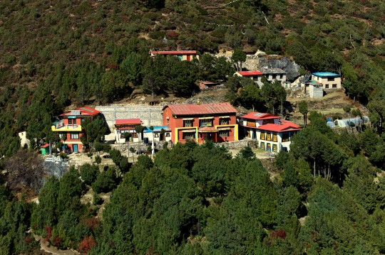Lawudo Gompa complex, Lawudo, Nepal, October 2014. Photo by Greg Beer.