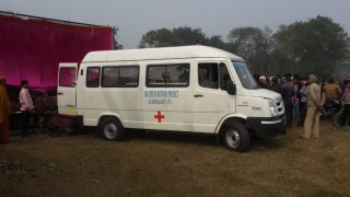 An ambulance was offered
