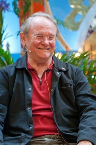 Professor Jeffrey Hopkins, Maitripa College, Portland, Oregon, United States, September 2011. Photo by Marc Sakamoto.