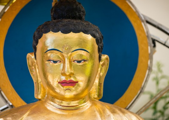 Buddha statue at Kachoe Dechen Ling, California, US. Photo by Chris Majors.