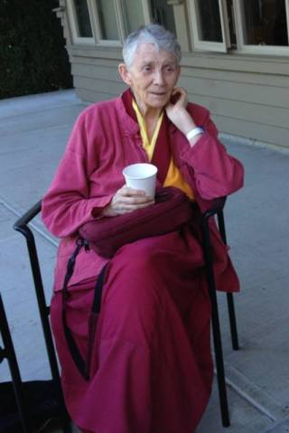 Anila Ann McNeil. Photo courtesy of FPMT North America's Facebook page.