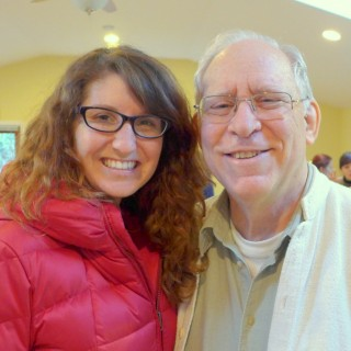 Felicity Keeley, director of Milarepa Center, with Jon Landaw, Land of Medicine Buddha, January 2015. Photo by Laura MIller