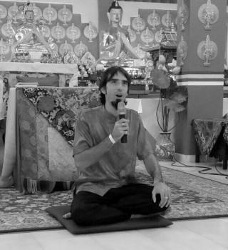Tenzin Ösel Hita, Losang Dragpa Centre, Sengalor, Malaysia, February 2015. Photo courtesy of Ldc Fpmt Facebook.